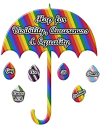 May 17 is the International Day Against Homophobia, Transphobia & Biphobia.