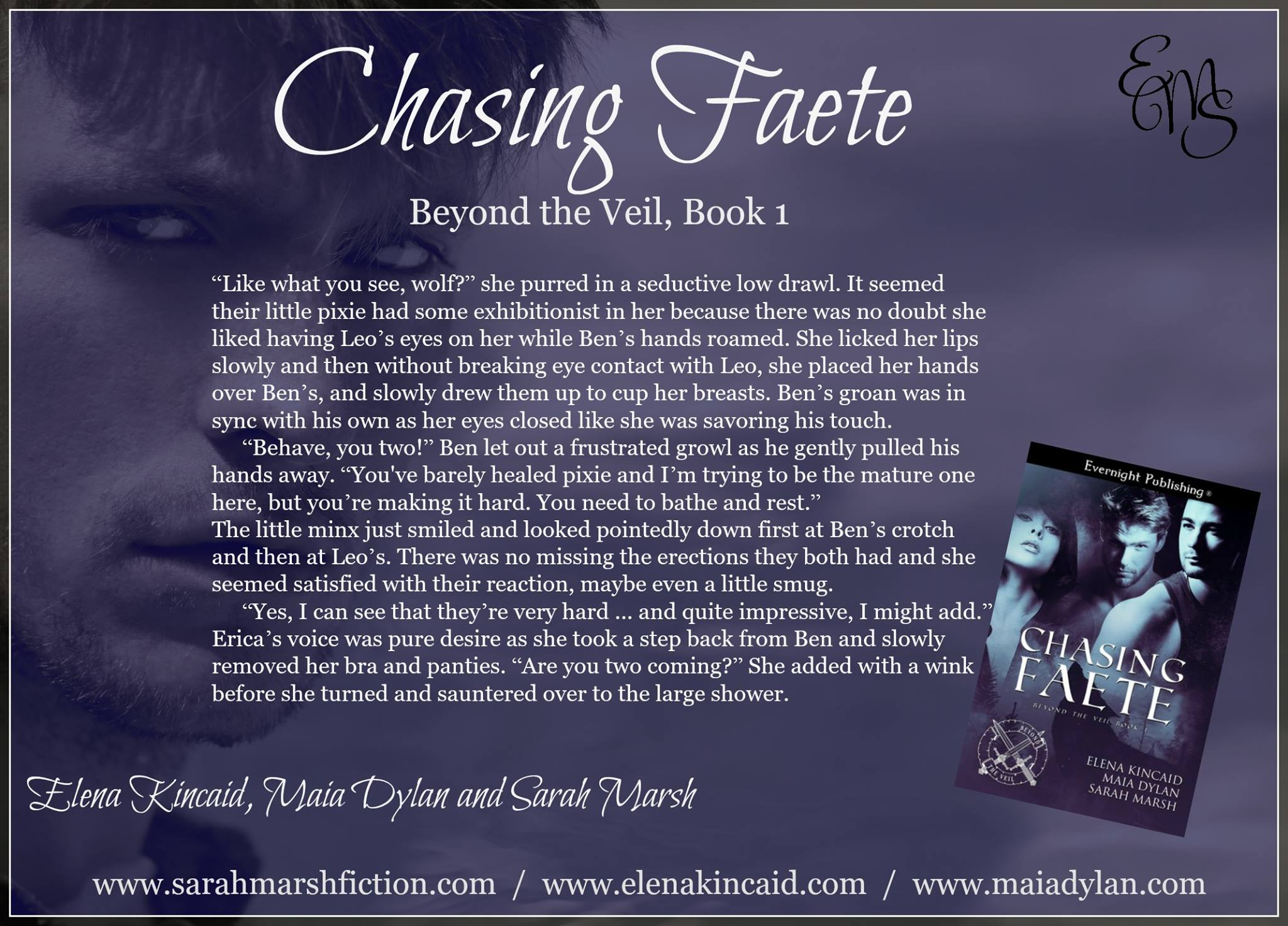 Chasing Faete (Beyond the Veil #1) by Elena Kincaid, Maia Dylan, and Sarah Marsh