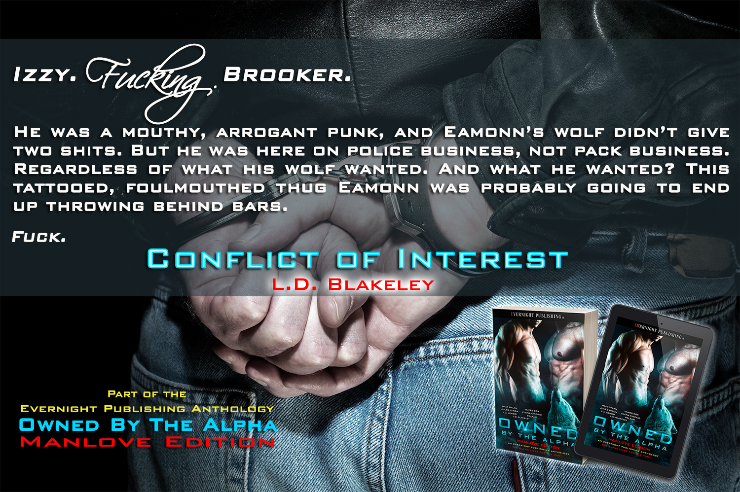Conflict of Interest by L.D. Blakeley (Owned by the Alpha: MLE Anthology)