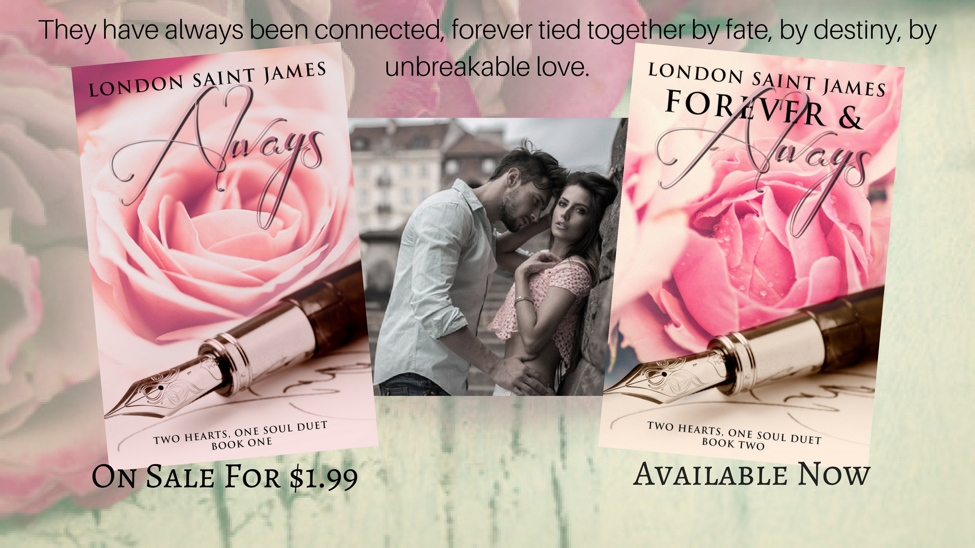 London Saint James: Always - on sale for $1.99 | Forever & Always - available now!