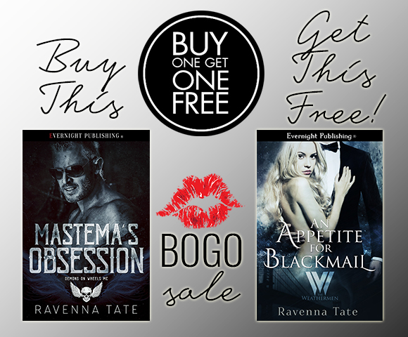 Only at Evernight Publishing.com: Buy Mastema's Obsession and get An Appetite for Blackmail FREE