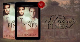 It's Release Day ‒ Welcome to SHADOWY PINES!