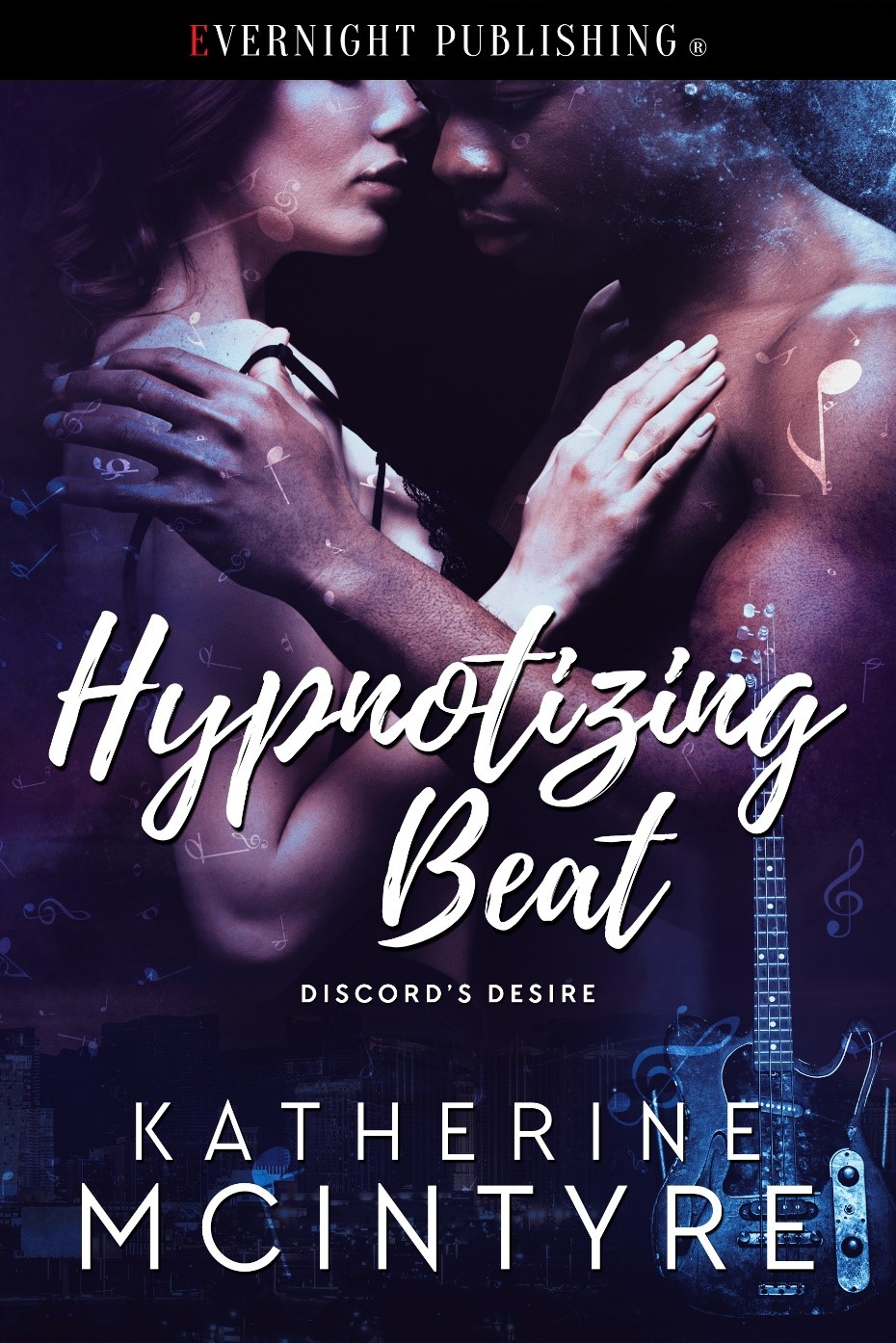 Cover Art: Hypnotizing Beat (Discord's Desire #2) by Katherine McIntyre