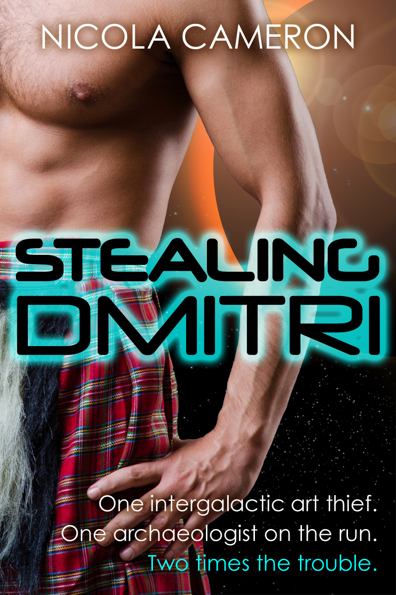 Book Cover - Stealing Dmitri by Nicola Cameron