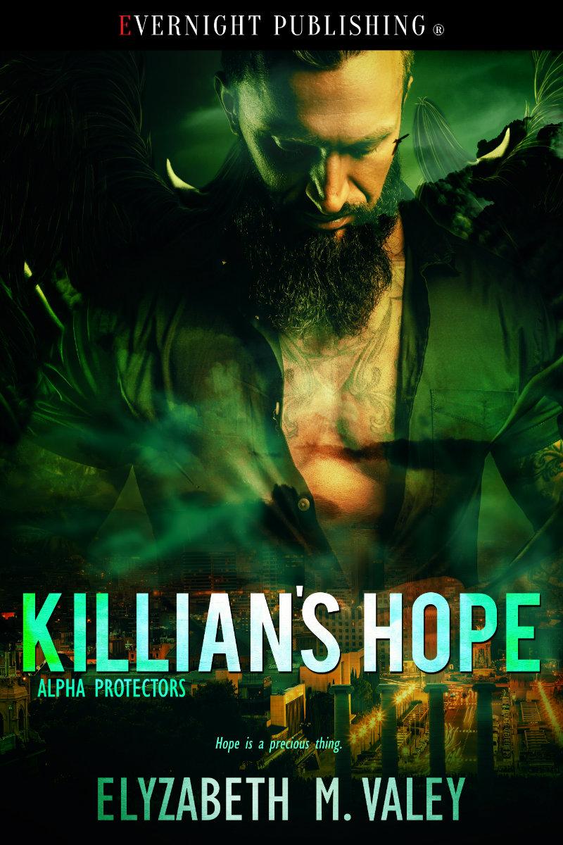 Book Cover Art: Killian's Hope (Alpha Protectors #4) by Elyzabeth M. VaLey