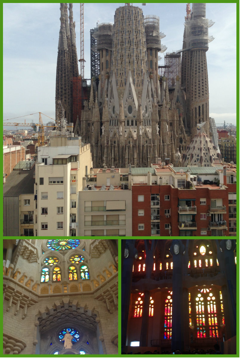 The Sagrada Familia. Pictures © Elyzabeth Valey