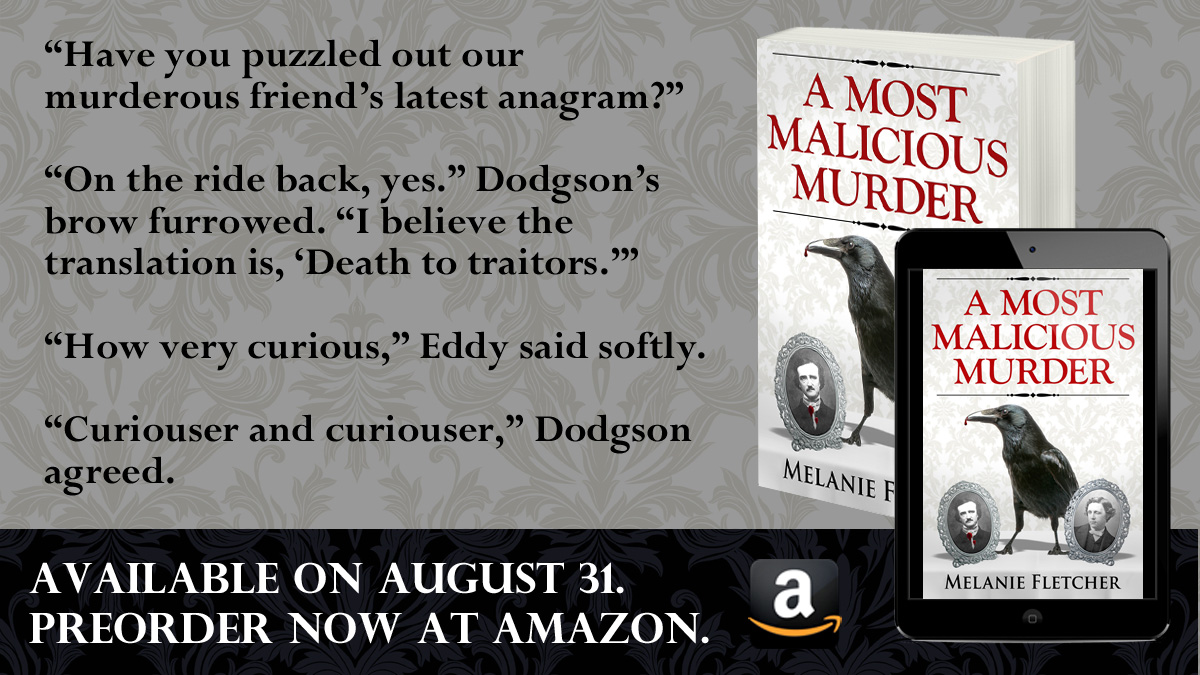 Preorder A Most Malicious Murder now | Get it August 31, 2021